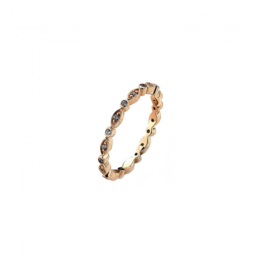 Virtue Stack Rings Rose Gold Fairy Ring Stack Ring