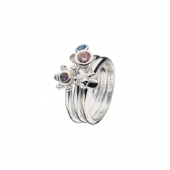 Secret Garden Stack Rings Collection