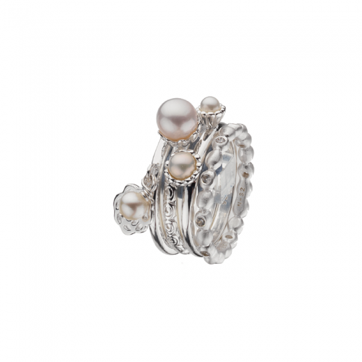Virtue Stack Rings Shimmer Stack Ring Collection