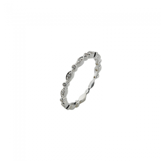 Virtue Stack Rings Silver Fairy Ring Stack Ring
