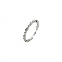 Silver Fairy Ring Stack Ring