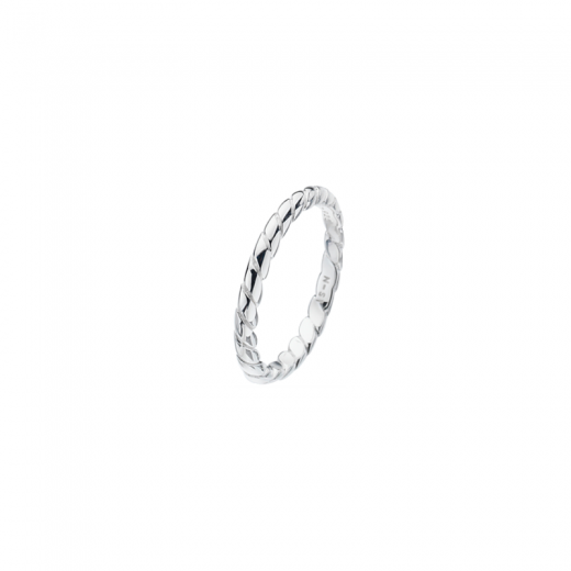 Virtue Stack Rings Silver Rope