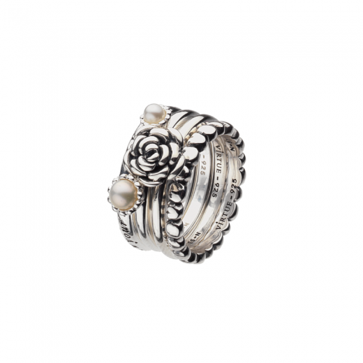 Virtue Stack Rings Summer of Love Stack Ring Collection