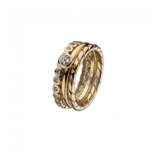 Virtue Stack Rings Together Forever Stack Ring Collection
