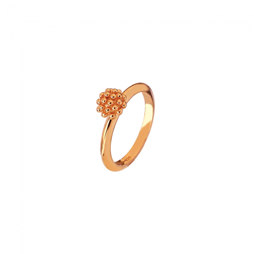 Virtue Stack Rings Trachelium Rose Gold Plate