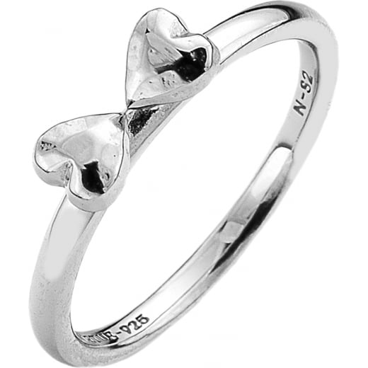 Virtue Stack Rings Two Hearts