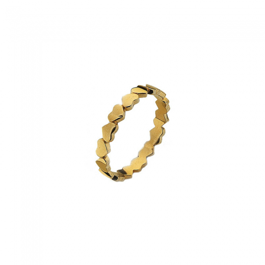 Virtue Stack Rings Unbroken Gold Stack Ring