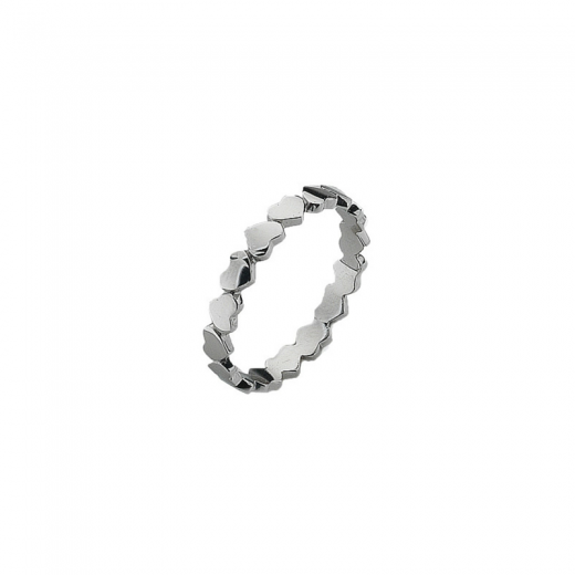 Virtue Stack Rings Unbroken Silver Stack Ring