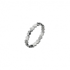 Unbroken Silver Stack Ring