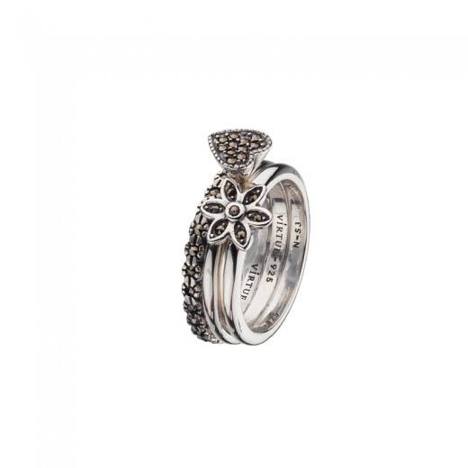 Virtue Stack Rings Venetian Stacking Rings Collection