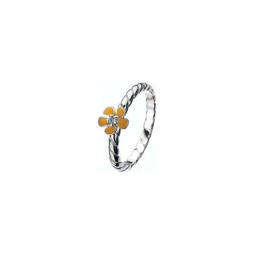 Virtue Stack Rings Yellow Geranium