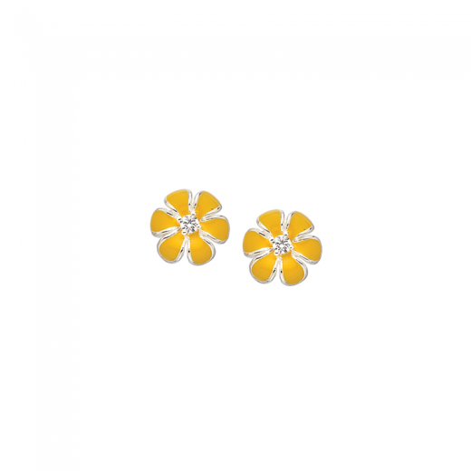 Virtue Stack Rings Yellow Pansy